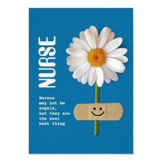 Día feliz de las enfermeras. Tarjetas de Invitaciones Personales