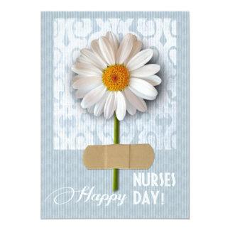 Día feliz de las enfermeras. Tarjetas de Comunicado Personalizado