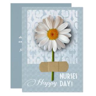 Día feliz de las enfermeras. Tarjetas de Invitación 12,7 X 17,8 Cm