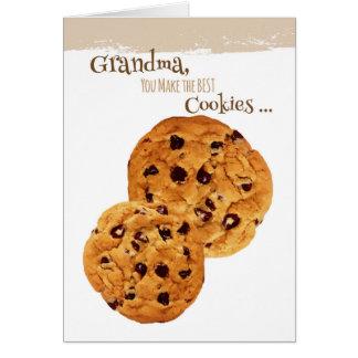 Día feliz de los abuelos para la abuela tarjetón