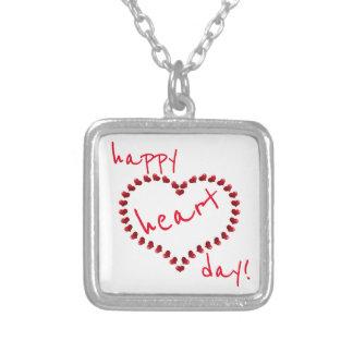 ¡Día feliz del corazón! Collar