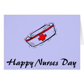 Día feliz Notecard de las enfermeras Tarjeta Pequeña