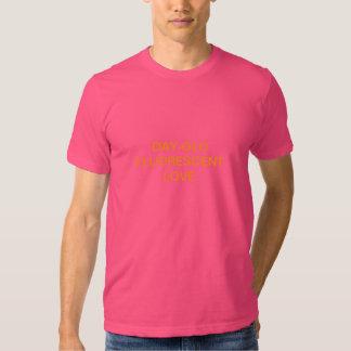día-glo camisas