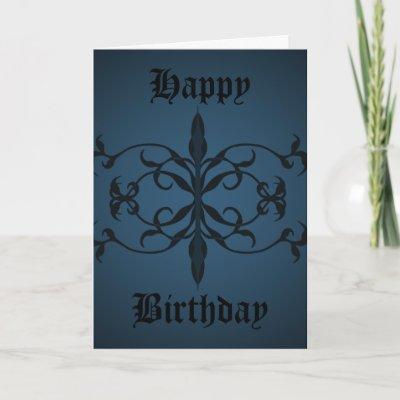 Cumpleaños goticos