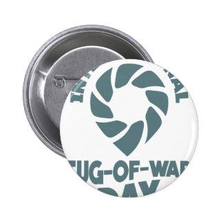 Día internacional del esfuerzo supremo - 19 de chapa redonda de 5 cm
