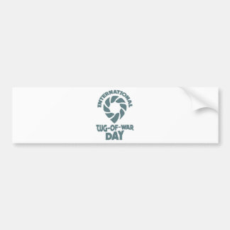 Día internacional del esfuerzo supremo - 19 de pegatina para coche