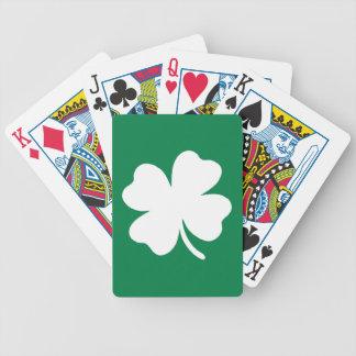 Día Irlanda del St Patricks del trébol Baraja Cartas De Poker