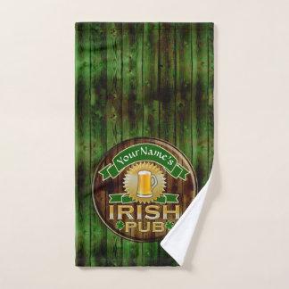 Día irlandés del St Patricks de la muestra del Pub