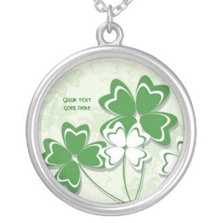Día irlandés del St. Patricks del trébol del Collares Personalizados