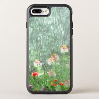 Día lluvioso en el jardín de flores funda OtterBox symmetry para iPhone 8 plus/7 plus