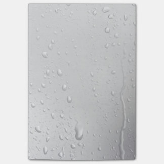 Día lluvioso notas post-it®