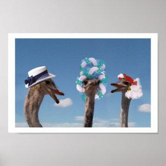 Día loco del gorra en las razas impresiones