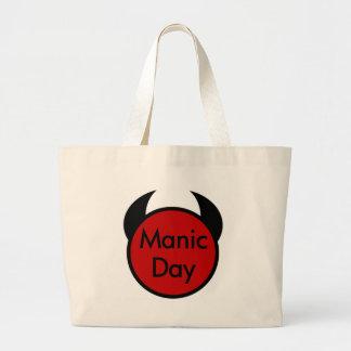 Día maníaco bolsas de mano