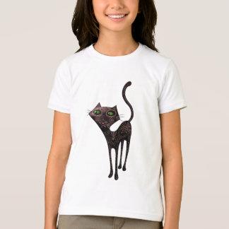 Día mexicano negro del gato muerto camiseta