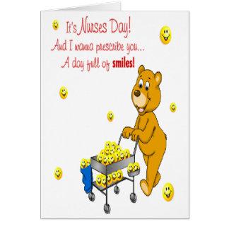 Día por completo de tarjeta de felicitación del dí