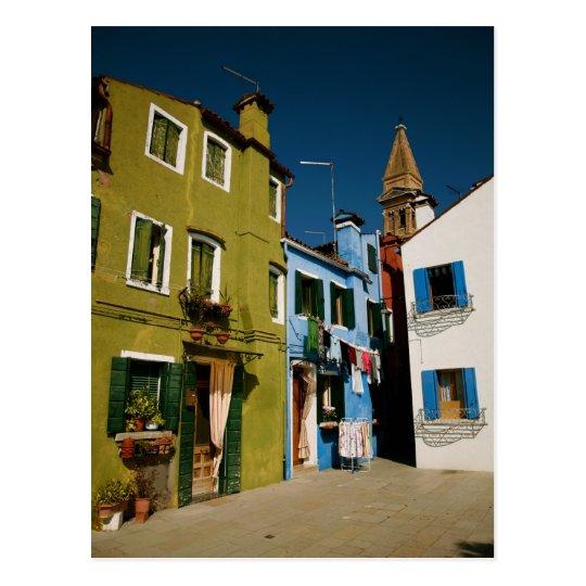 Día Venecia del lavadero Postal