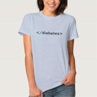 Diabetes del extremo camiseta