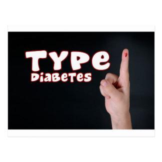 Diabetes del tipo 1 postal