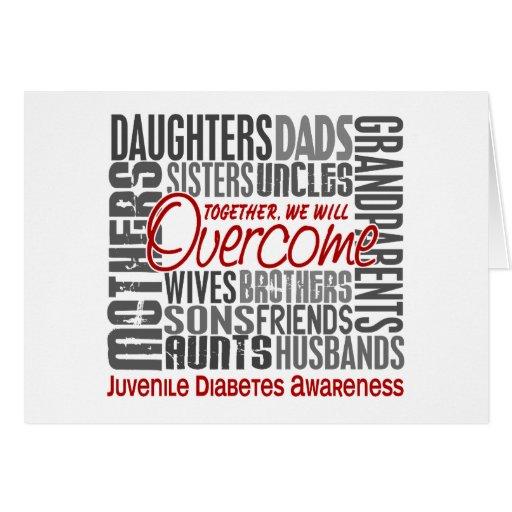 Diabetes juvenil cuadrada de la familia tarjeton