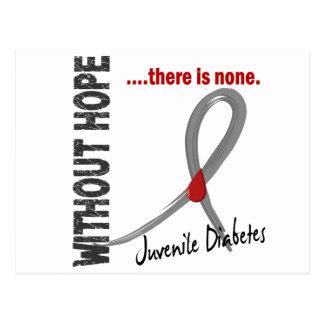 Diabetes juvenil sin la esperanza 1 postales