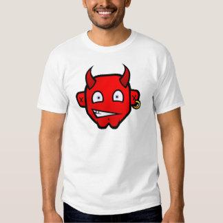 Diablo diabólico - cabeza grande camiseta