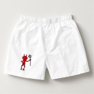 Diablo rojo calzoncillos