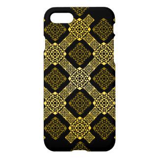 diagonal del oro de f funda para iPhone 7