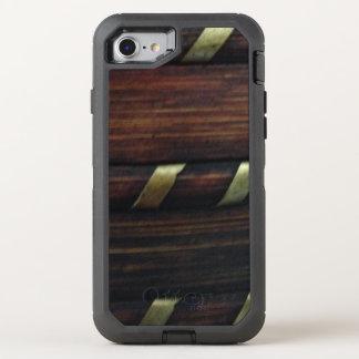 diagonal gris marrón funda OtterBox defender para iPhone 8/7