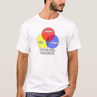 Diagrama de Venn. Entrenadores de fútbol Camiseta