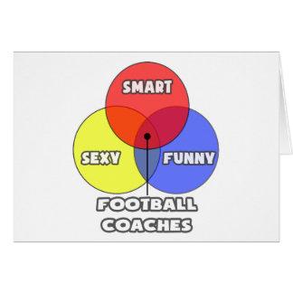 Diagrama de Venn. Entrenadores de fútbol Felicitación