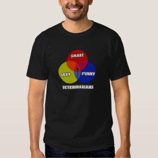 Diagrama de Venn. Veterinarios Camiseta