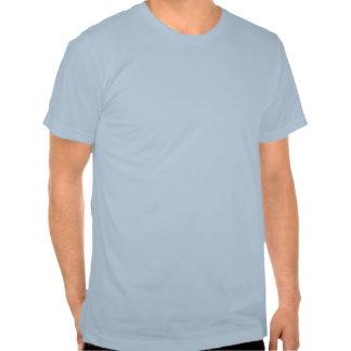 Diagrama divertido del corazón de la camiseta del