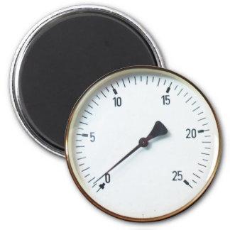 Dial del indicador de presión del vapor imanes