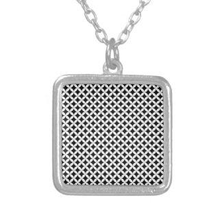 Diamante #2 collar plateado