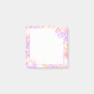 Diamante artificial rosado del compás de la notas post-it®