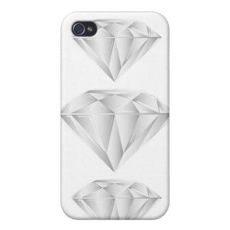 Diamante blanco para mi amor iPhone 4 coberturas