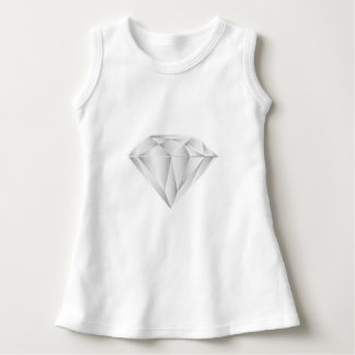 Diamante blanco para mi amor vestido