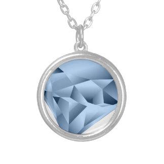 Diamante Collar Plateado