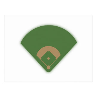 Diamante de béisbol: postal