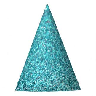 Diamante de la chispa del brillo colorido gorro de fiesta