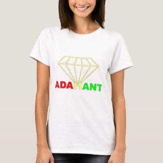 Diamante de Rasta de las mujeres Camiseta