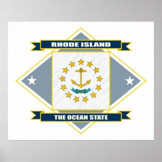 Diamante de Rhode Island Póster