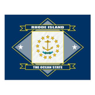 Diamante de Rhode Island Postal
