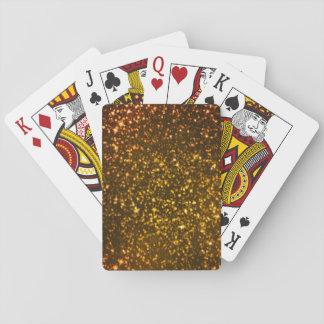 Diamante del brillo baraja de cartas