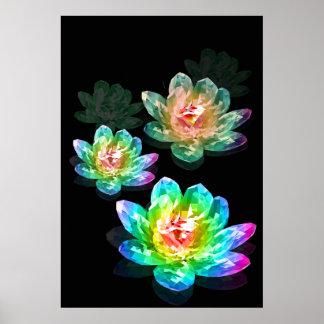 Diamante Lotus Póster