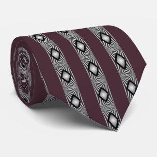 Diamantes con las tiras corbata