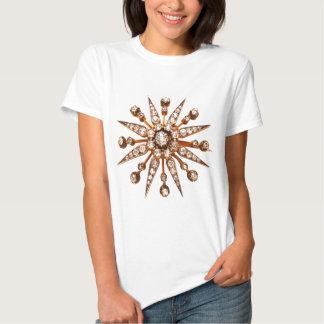 Diamantes de los diamantes artificiales de la camisas