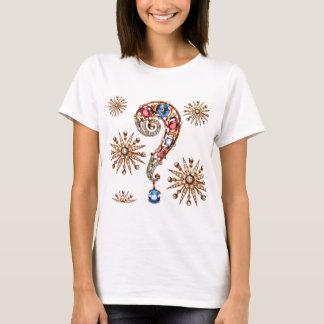 Diamantes de los diamantes artificiales de la camiseta