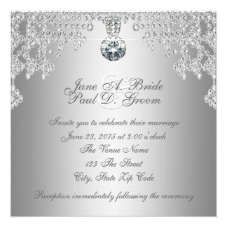 Diamantes elegantes y bodas de plata comunicado