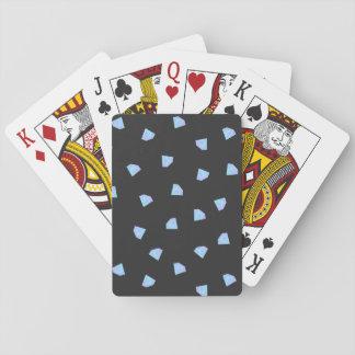 Diamantes que caen baraja de cartas